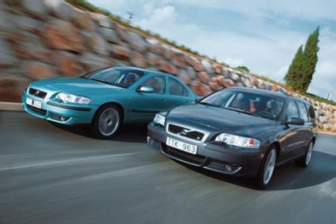 Volvo V70 R und S60 R