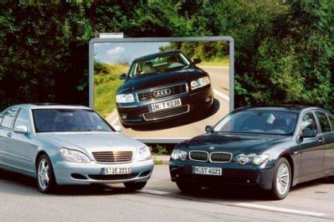 Deutsche Autohersteller glänzen 2002