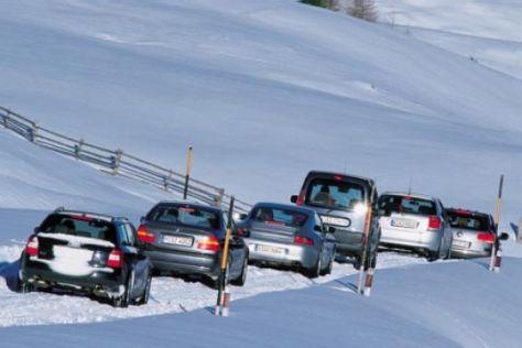 Antriebssysteme im Wintertest