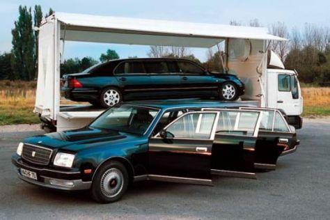 Toyota Century Emperor und Lexus Magnum