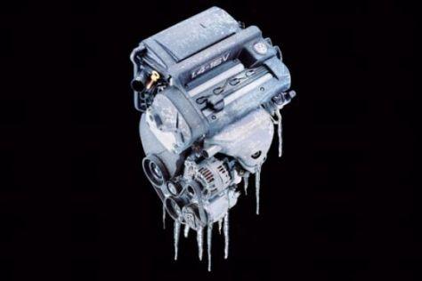 Motorschäden durch Eis