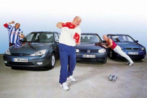 Focus TDCi, Astra Sport DTI und Golf TDI
