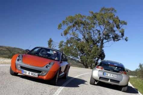 Smart roadster und roadster-coupé