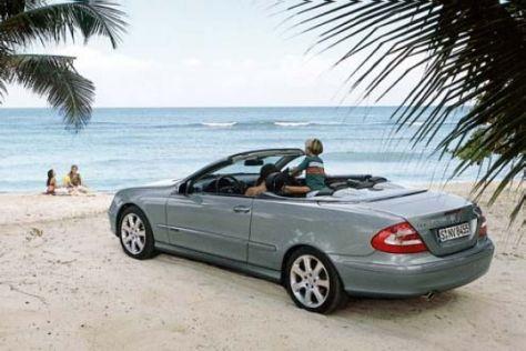 Mercedes zeigt den neuen offenen CLK