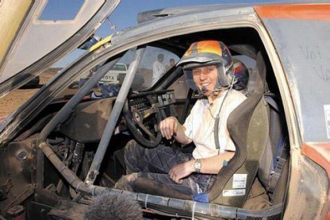 Jutta Kleinschmidts Dakar-Tagebuch 2003