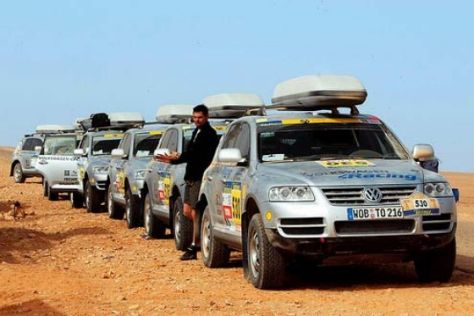 VWs erste Dakar-Touareg