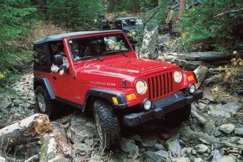 Jeep Cherokee und Jeep Wrangler