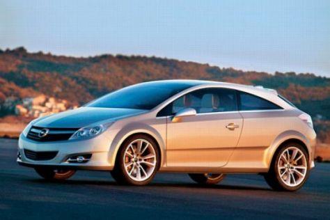 Kompaktwagen-Studie Opel GTC Genève