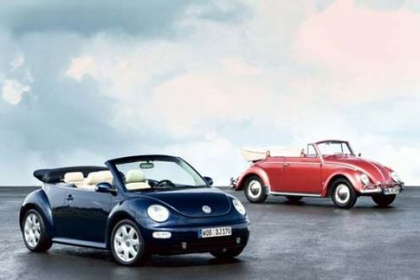 Start New Beetle Cabriolet