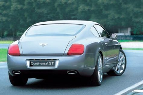Preise Bentley Continental GT