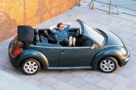 VW New Beetle Cabriolet 2.0