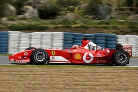 Crash bei Ferrari-Testfahrten