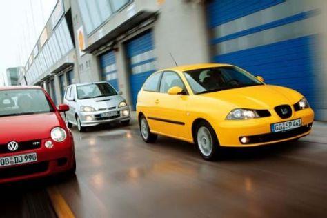 Lupo GTI gegen YRV GTti und Ibiza 1.9 TDI Sport