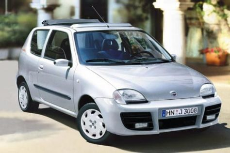 Sondermodelle Fiat Seicento und Punto