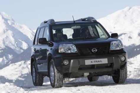 Sondermodell Nissan X-Trail X-pedition
