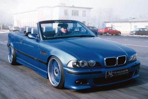 BMW M3 Cabrio mit 5er-Front