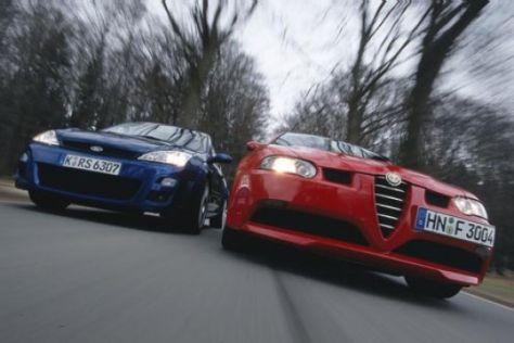 Ford Focus RS gegen Alfa 147 GTA