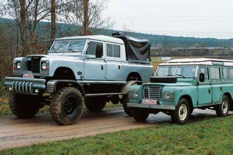 Vorstellung Land Rover 109 Bigfoot