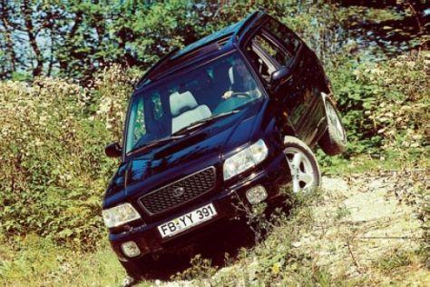 Subaru-Zulassungen Januar-März 2003