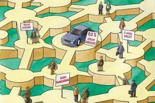 Die Wege zum Kredit