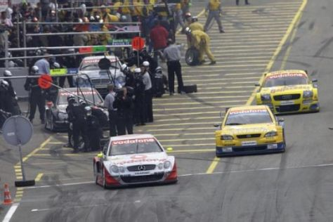 DTM-Start in Hockenheim