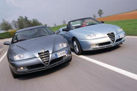 Facelift für Alfa GTV und Spider