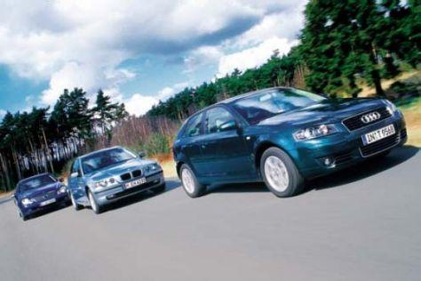 Mercedes und BMW gegen den neuen Audi A3