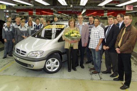 Produktionsrekord Opel Zafira