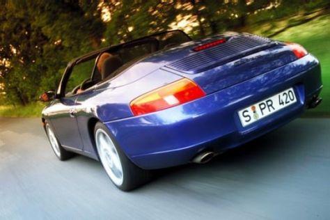 Porsche-Motorenlärm