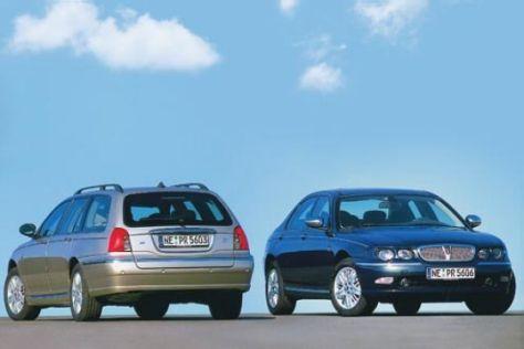 Rover 75 1.8T und 2.0 CDTI