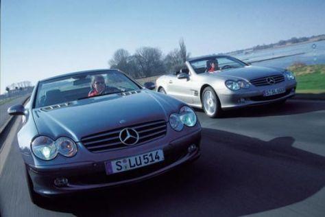 Mercedes-Benz SL 350 gegen SL 600