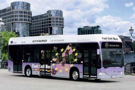 Brennstoffzellen-Busse