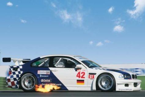 Track-Test BMW M3 GTR