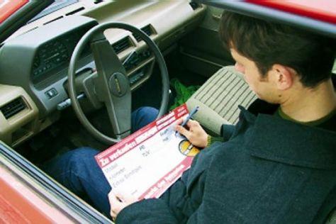 Autokauf, Beschädigung, Bußgeld