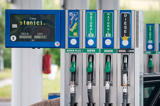 Tankpreise tschechien