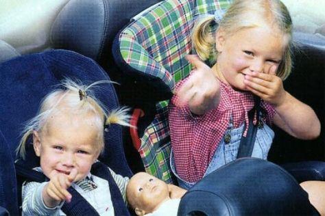 """Auftakt der Kampagne """"Kind im Auto 2003"""""""
