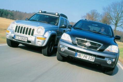 Vergleich Jeep Cherokee, Kia Sorento