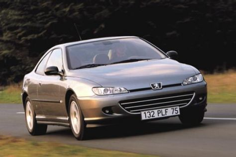 Facelift Peugeot 406 Coupé