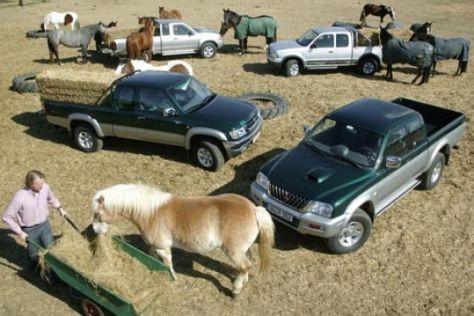 Diesel-Pickups mit 2+2 Sitzen