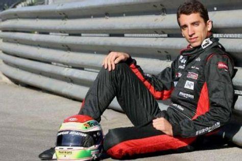 Formel-1-Pilot Justin Wilson