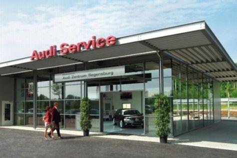 Audi startet neuen Werkstatt-Typ