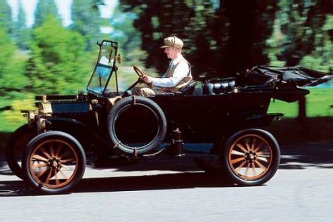 Jubiläumsfahrt im legendären T-Modell