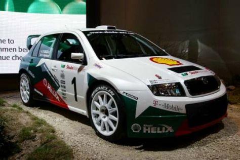 Debüt bei der Rallye Deutschland