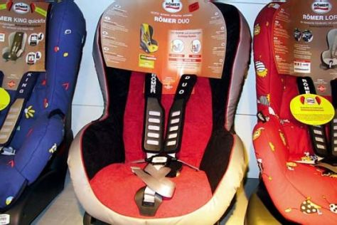 Neuer Isofix-Kindersitz