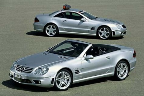 SL 55 AMG mit Performance Package