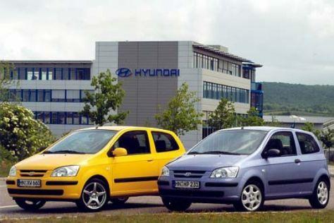 Neue Sonderfarben für den Hyundai Getz