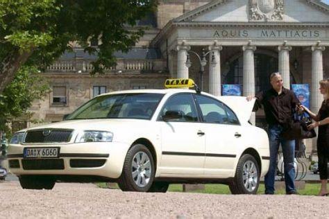 Skoda mit Taxi-Ausstattung ab Werk