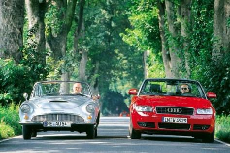 Audi A4 Cabrio vs. Auto Union 1000 Sp Roadster