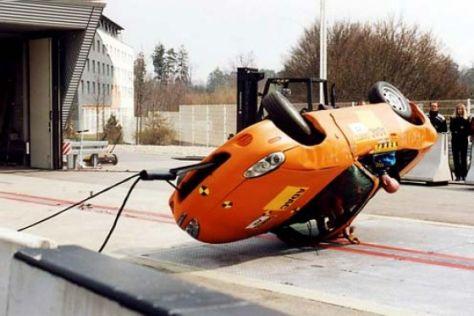 """Cabrios im """"Rollover""""-Crashtest"""
