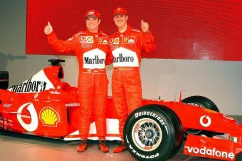 Barrichello und Coulthard auf dem Abstellgleis